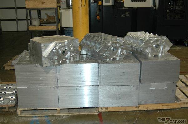Dart Billet Blocks Billet blocks are machined from solid blocks of