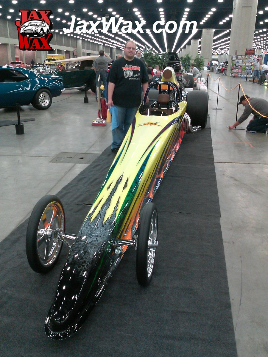 Customers Rides American Super Comp Dragster Tommy Mattingly - Car show louisville ky
