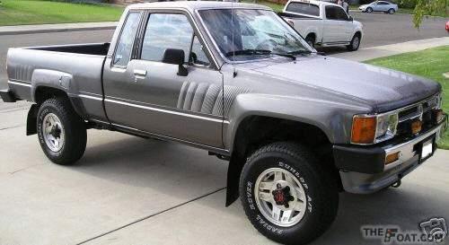 1988 Toyota Pickup My 88 4wd