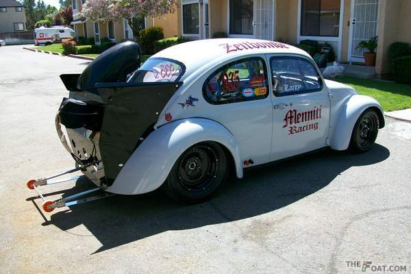 1970 vw fast bug Menniti Racing turbo car