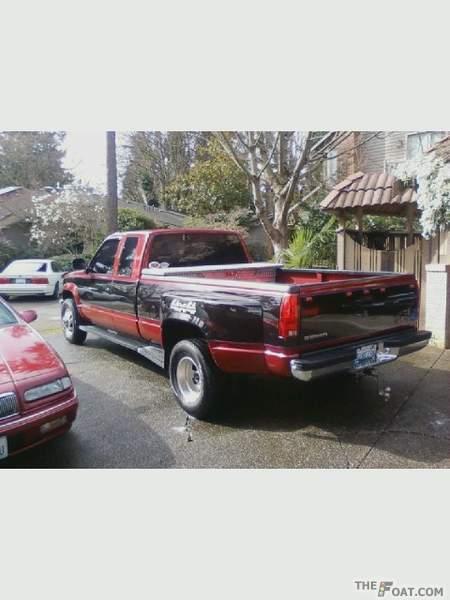 1992 Gmc Sierra 3500 Ext  Cab 4x4 Dually My Truck   U0026 39 92 Gmc