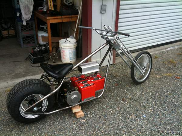 2009 West Coast Mini Chopper Classic Rigid Rolling Chassis Kit ...