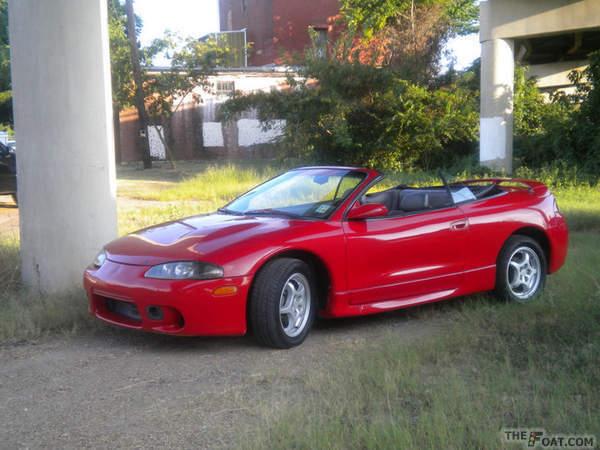 1997 Mitsubishi Eclipse GST Spyder