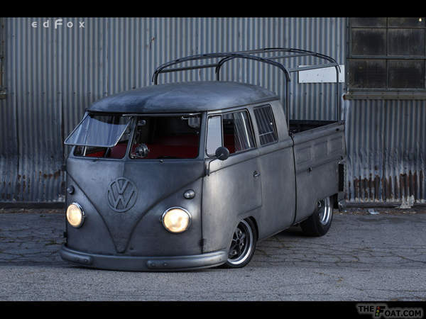 1959 Vw Double Cab The Dirty Bus Aka Bare Metal Bus