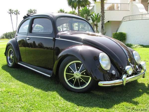 1951 Vw Beetle 51 Split Window Bug