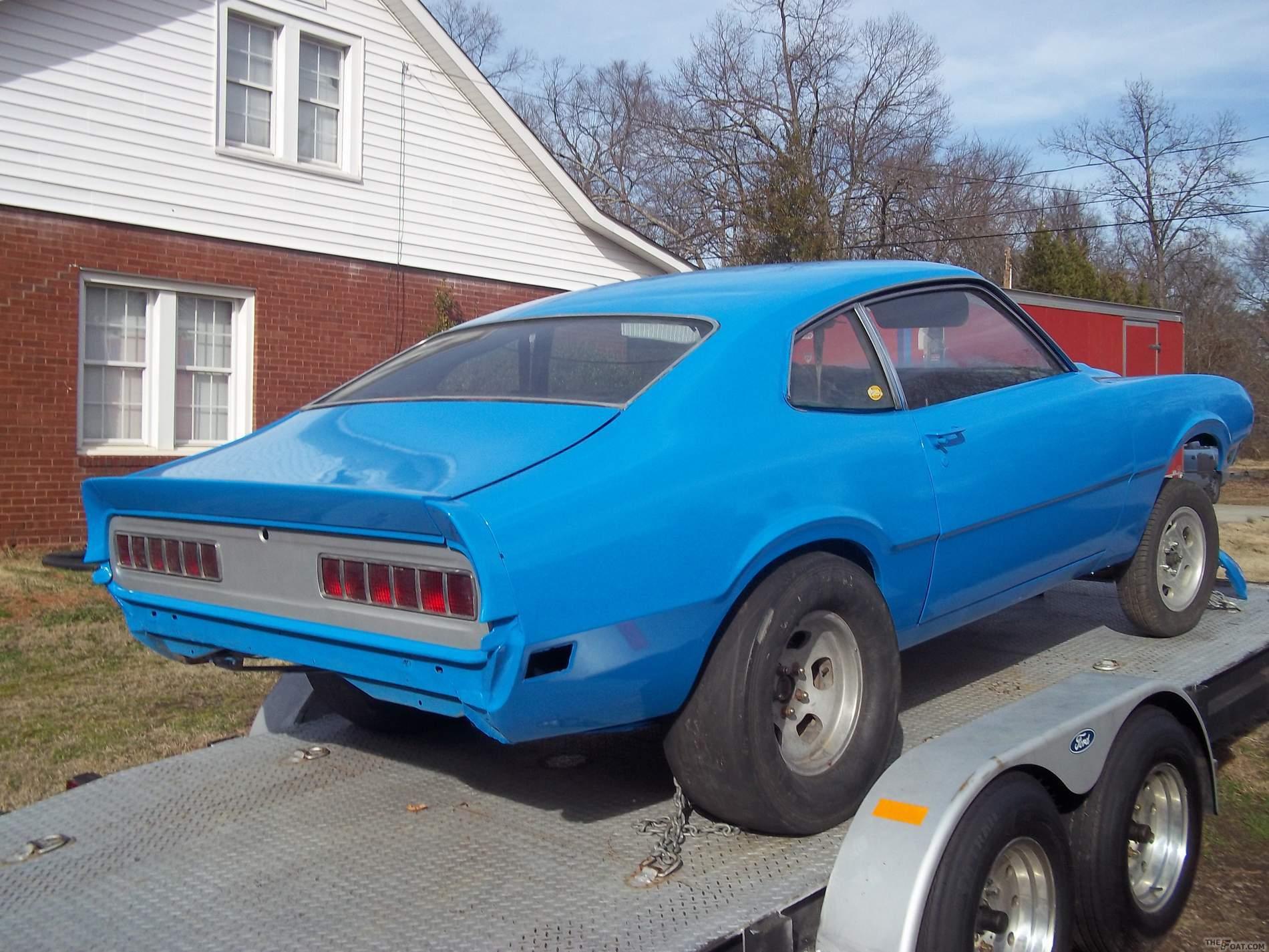 1970 Ford Maverick Gasser
