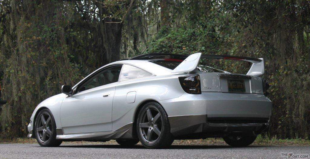 2004 Toyota Celica Gt Silver Shadow