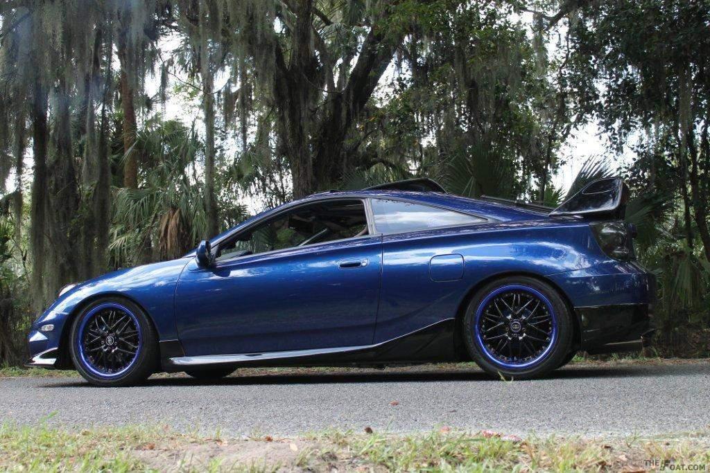 2002 Toyota Celica GT/GTS Blue Devil