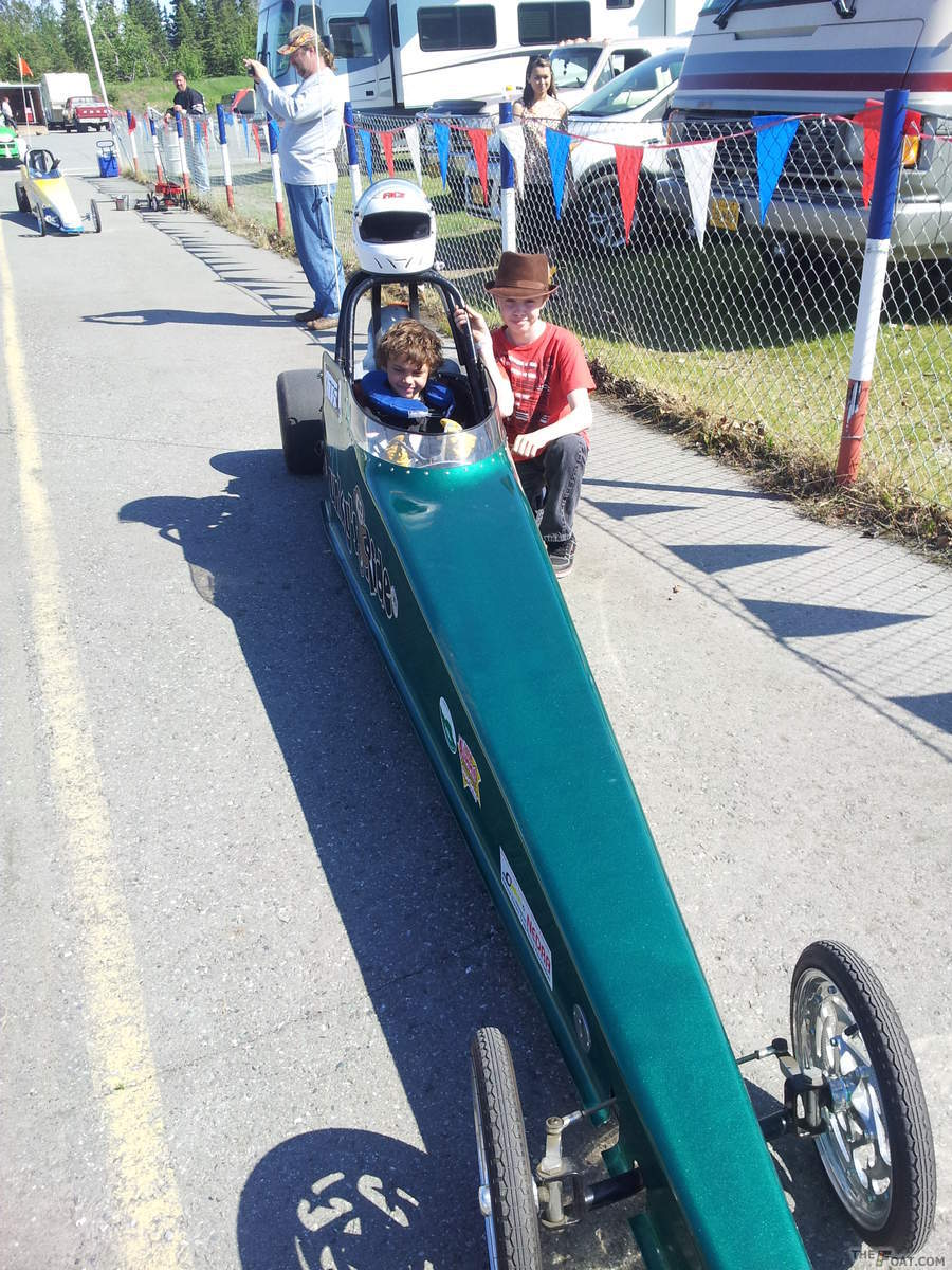 2013 Electric Powered Junior Dragster 2 Electric Powered