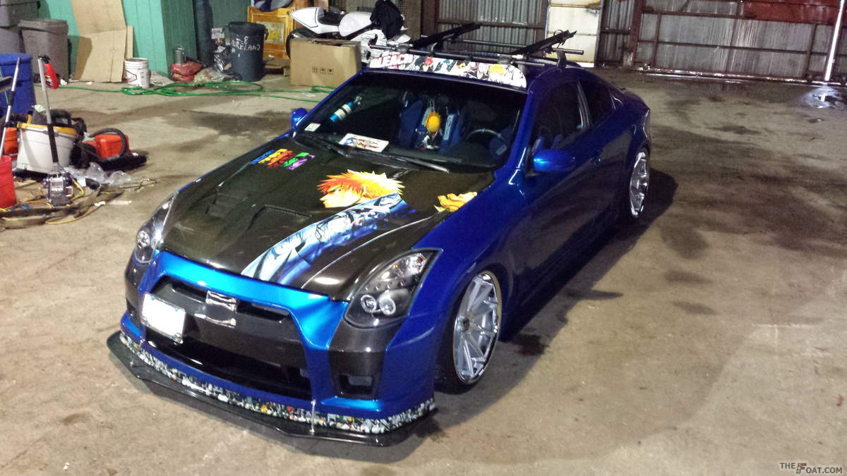 2003 Infiniti G35 Coupe Wide Body Stance
