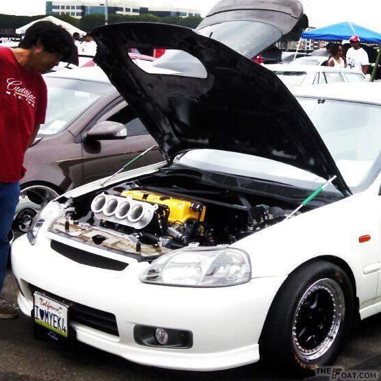 1997 Honda Civic Hatchback EK9 K24 All Motor