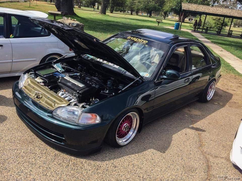 1995 Honda Civic Ex Sedan 1995 Civic Ex Sedan