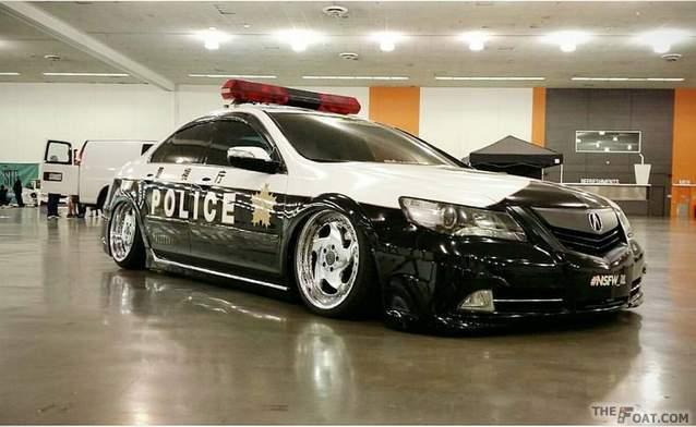 2009 Acura Rl Tokyo Police Themed Acura Kb2 Rl Rare Mugen