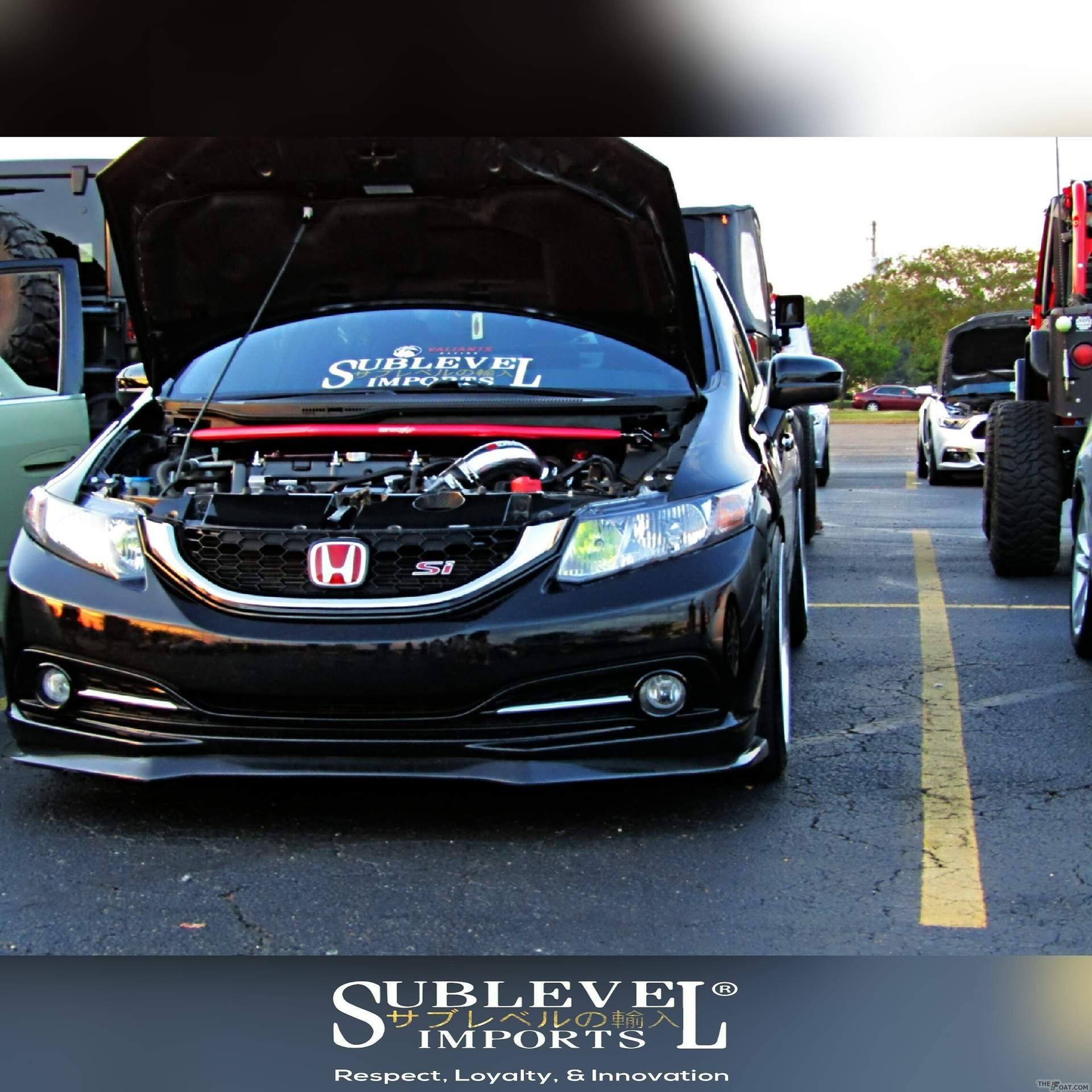2014 Honda Civic SI Sublevel Imports