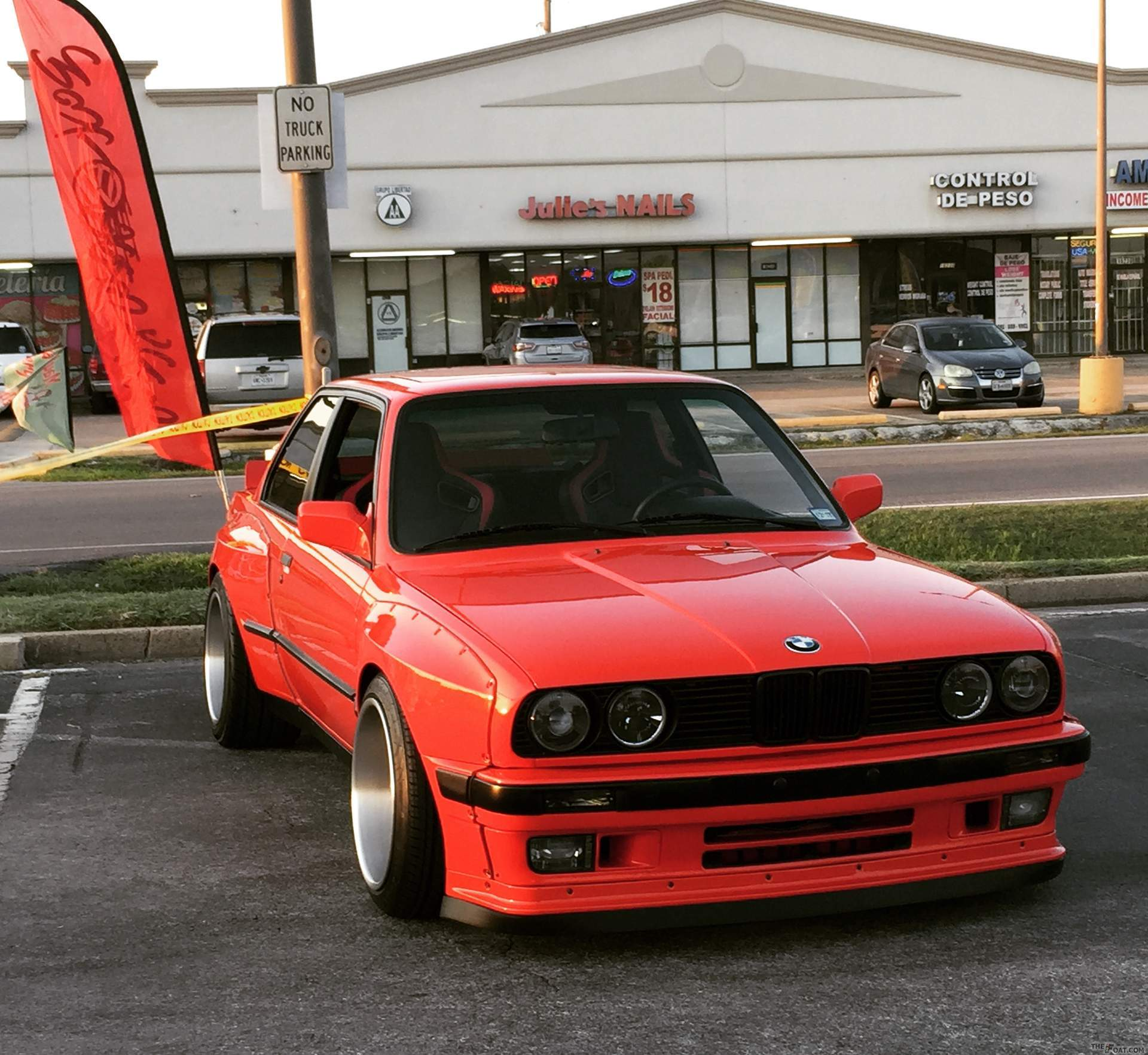 1988 Bmw 325is The Red Devil Rocketbunny E30